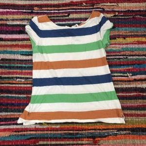 Gap striped top with ties